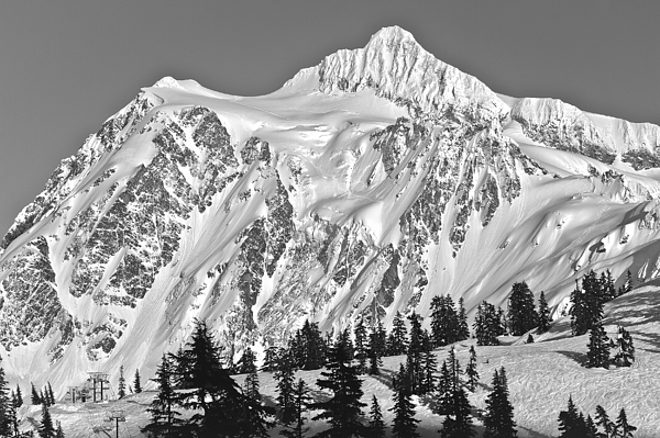 Mt Shuksan by Tony Locke